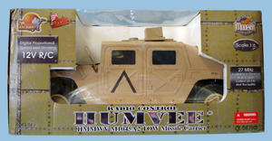 The Ultimate Soldier Radio Control Humvee