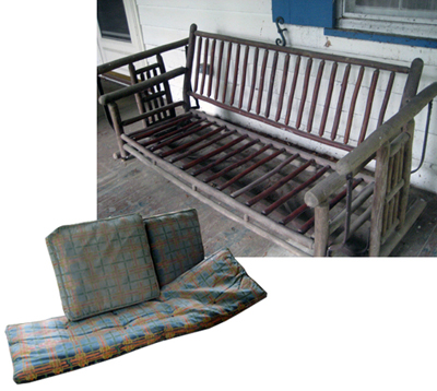 Old Hickory settee - Questions And Answers